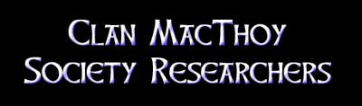 Clan MacThoy Researchers